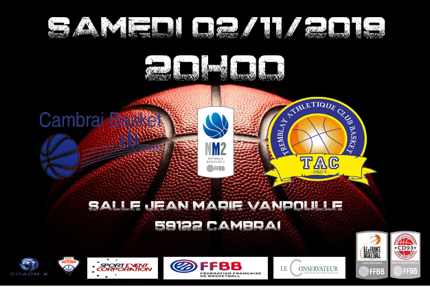 CAMBRAI vs TAC – NM2